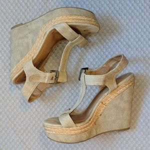 Canvas Wedge Platform Espadrilles